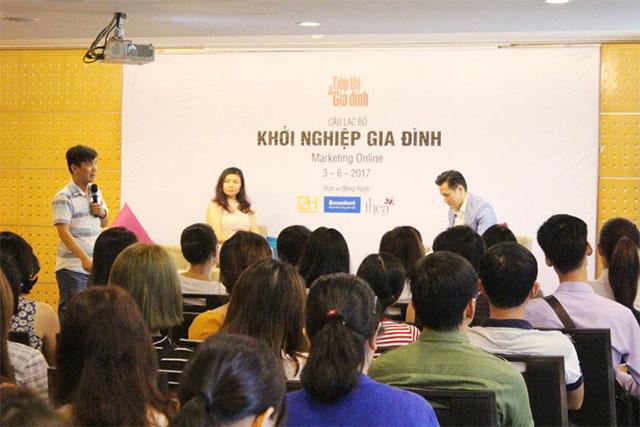Chuỗi Workshop khởi nghiệp của tạp chí Tiếp thị gia đình và sự đồng hành của P2H Academy