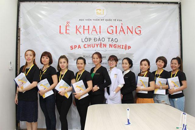 Tưng bừng khai giảng khóa học Spa chuyên nghiệp K25 tại P2H AcademyTưng bừng khai giảng khóa học Spa chuyên nghiệp K25 tại P2H Academy
